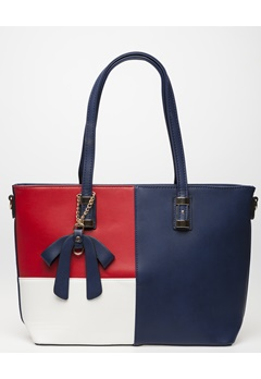 Have2have Handväska, Camomil Blå, röd, vit Bubbleroom.se