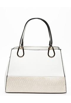 Have2have Handväska, Custroad Vit, beige Bubbleroom.se