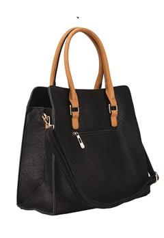 Have2have Handbag, Greystones Black Bubbleroom.eu