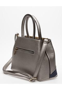 Have2have Handväska, Limerey Silvergrå, mörkblå, grå Bubbleroom.se