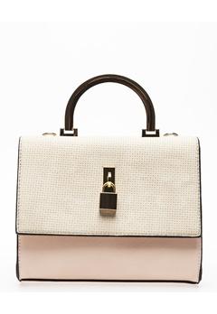 Have2have Handväska, Wasp Beige, vit, rosa Bubbleroom.se