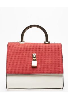 Have2have Handväska, Wasp Röd, svart, vit Bubbleroom.se