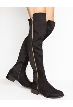 Have2have Overknee støvler, Cindy Svart Bubbleroom.no