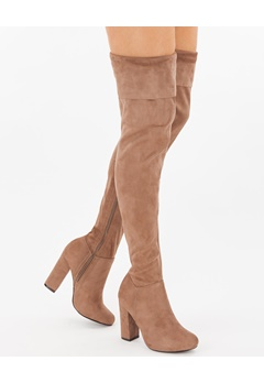 Have2have Over the knee boots, Vela80 Beige Bubbleroom.eu