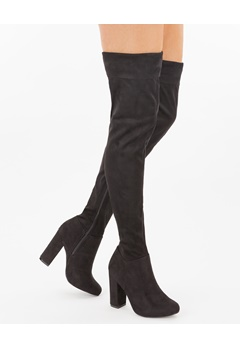Have2have Over the knee boots, Vela80 Black Bubbleroom.eu