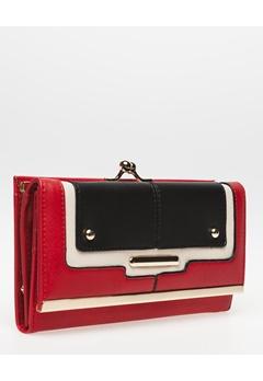 Have2have Plånbok, Bam Röd, svart, beige Bubbleroom.se