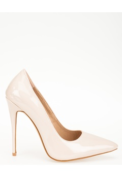 Have2have Heeled Shoes, Koo Nude patent Bubbleroom.eu