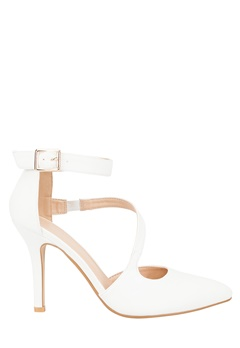 Have2have Heeled court shoes, Sony White Bubbleroom.eu