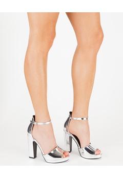 Have2have Sandaletter, Lila Silver Bubbleroom.se