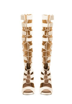 Have2have Sandaletter med snörning, Serena Beige Bubbleroom.se