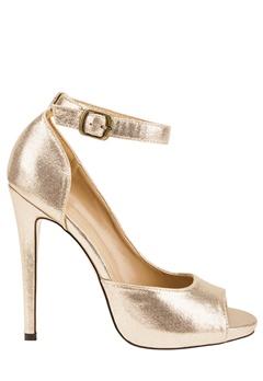 Have2have Sko med høye hæler, Rita19. Gull Bubbleroom.no