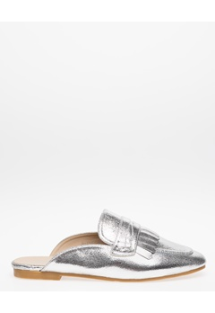 Have2have Slipin Loafers, Barbro Silver Bubbleroom.se