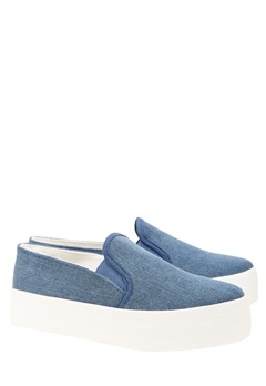 Have2have Slipon sneakers, Snow Blå denim Bubbleroom.se