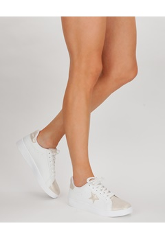 Have2have Sneakers, Becky Vit, guld Bubbleroom.se