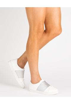 Have2have Sneakers, Felippa Vit, silver. Bubbleroom.se