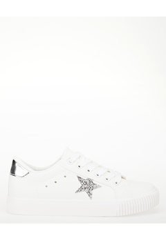 Have2have Sneakers, Star quality Vit (med silverdetaljer) Bubbleroom.se