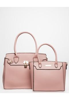 Have2have Två Handväskor, Collen Rosa Bubbleroom.se
