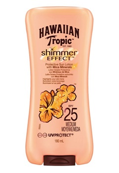 Hawaiian Tropic Hawaiian Tropic Shimmer Effect Lotion Sf25 (180ml)  Bubbleroom.se