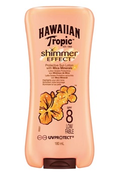 Hawaiian Tropic Hawaiian Tropic Shimmer Effect Lotion Sf8 (180ml)  Bubbleroom.se
