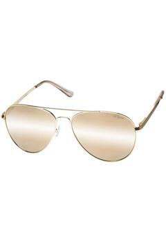 Le Specs Le Specs Drop Top Gold Gold Revo Mirror  Bubbleroom.se