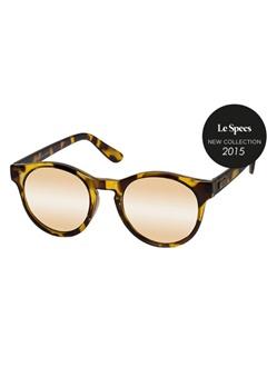 Le Specs Le Specs Hey Macarena Tortoise Gold Mirror Lens  Bubbleroom.se