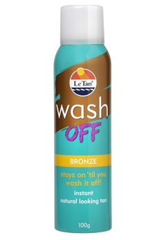 Le Tan Le Tan Wash Off Bronze 100G Aerosol (100g)  Bubbleroom.se