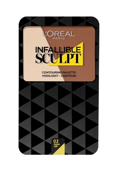 LOreal Paris L'oreal Infallible Sculpt Palette Medium  Bubbleroom.se