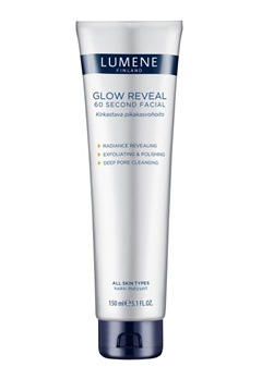 Lumene Lumene Glow Reveal 60 Second Facial  Bubbleroom.fi