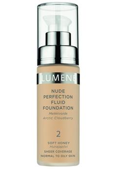 Lumene Lumene Nude Perfection Fluid Foundation - 2 Soft Honey  Bubbleroom.se