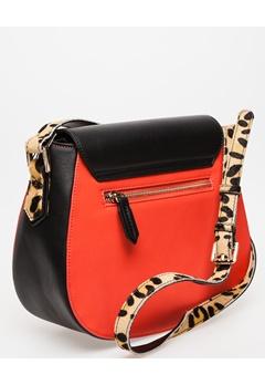 LYDC London Axelremsväska, Line Röd, svart, leopard Bubbleroom.se