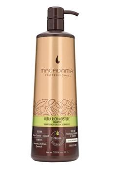 Macadamia Natural Oil Macadamia Wash And Care Ultra Rich Moisture Shampoo (1000ml)  Bubbleroom.se