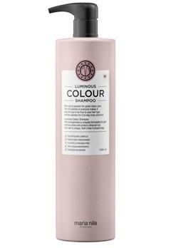 Maria Nila Maria Nila Care Shampoo Luminous Color (1000ml)  Bubbleroom.no