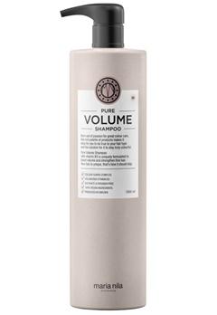 Maria Nila Maria Nila Care Shampoo Pure Volume (1000ml)  Bubbleroom.no