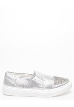 Mayline Sneakers, Giggi Silver Bubbleroom.se