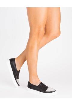 Mayline Sneakers, Giggi Svart Bubbleroom.se