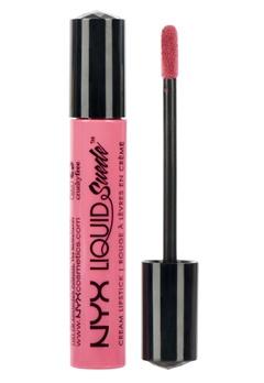 NYX NYX Liquid Suede Cream Lipstick - Life'S A Beach  Bubbleroom.se