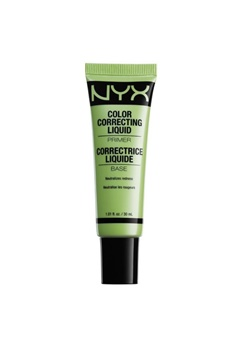 NYX NYX Color Correcting Liquid Primer Green  Bubbleroom.se