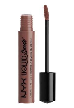 NYX NYX Liquid Suede Cream Lipstick Brooklyn Thorn  Bubbleroom.se