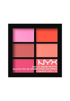 NYX NYX Pro Lip Cream Palette - Pinks  Bubbleroom.se