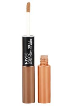 NYX NYX Sculpt & Highlight Face Duo - Espresso/Honey  Bubbleroom.se