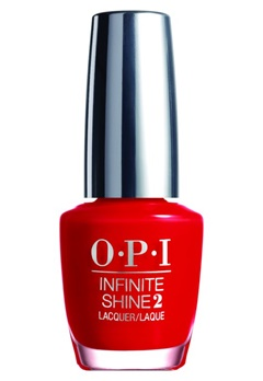 OPI OPI Infinite Shine - Unequivocally Crimson  Bubbleroom.se