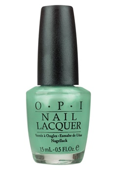 OPI OPI Nail Lacquer Go On Green  Bubbleroom.no