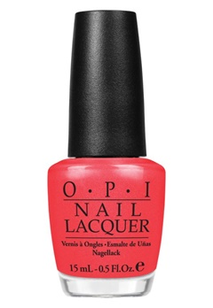 OPI OPI Nail Lacquer I Eat Mainely Lobster  Bubbleroom.fi