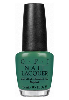 OPI OPI Nail Lacquer Jade Is the New Black  Bubbleroom.no
