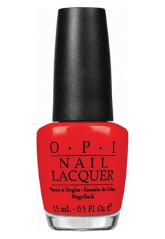 OPI OPI Nail Lacquer Red My Fortune Cookie  Bubbleroom.fi