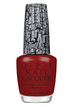 OPI OPI Nail Lacquer Red Shatter  Bubbleroom.se