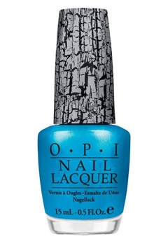 OPI OPI Nail Lacquer Turquoise Shatter  Bubbleroom.no
