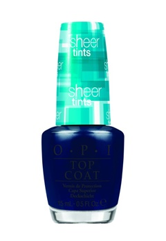 OPI OPI Sheer Tints - I Can Teal You Like Me  Bubbleroom.se