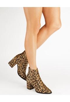 Truffle Ankle Boots, Eagle2 Leopard Bubbleroom.eu
