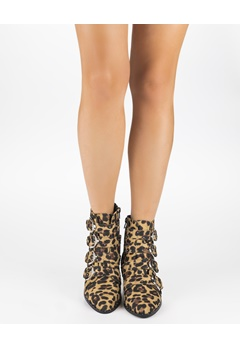Truffle Ankelboots, Lola Leopard Bubbleroom.se